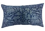 Antique Indigo   Batik Pillow