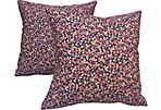 Liberty of London Floral Pillows, Pair