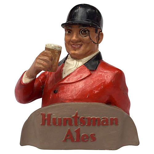 English Pub Display Huntsman Ales