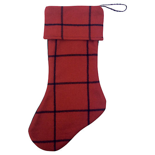 Ralph Lauren Cashmere Christmas Stocking