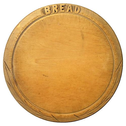 English Bread Carving Board
