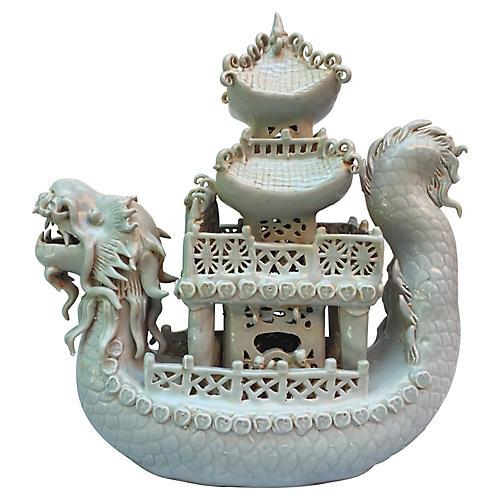 Celadon Pagoda Ship