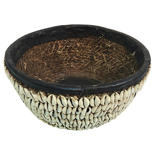Tribal Shell Basket