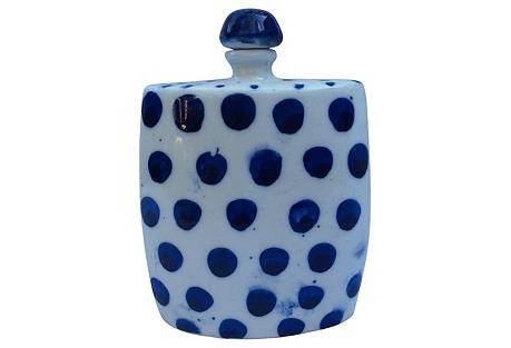 Blue & White Porcelain    Perfume Bottle