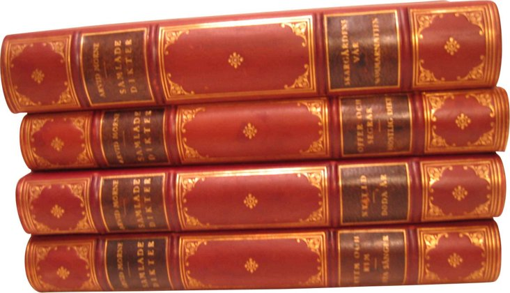 Decorative Books, Set of 4