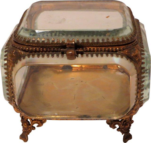 19th-C.  Jewelry Casket