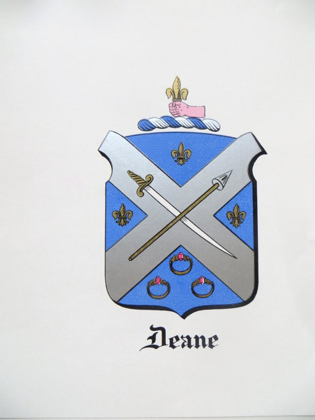 Deane Coat of Arms