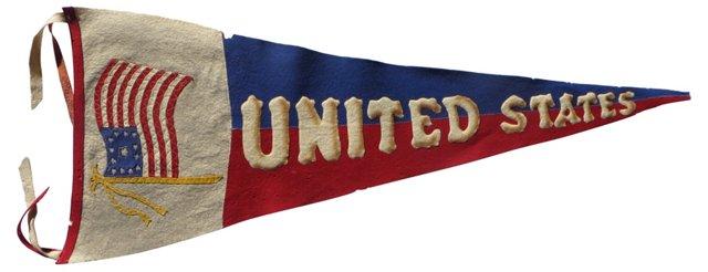 13-Star Flag Pennant