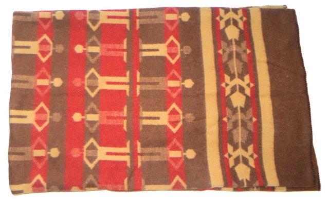 Pattern Wool Blanket