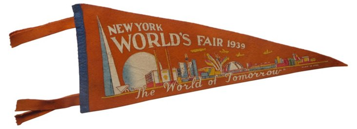1939 NY World's Fair Pennant