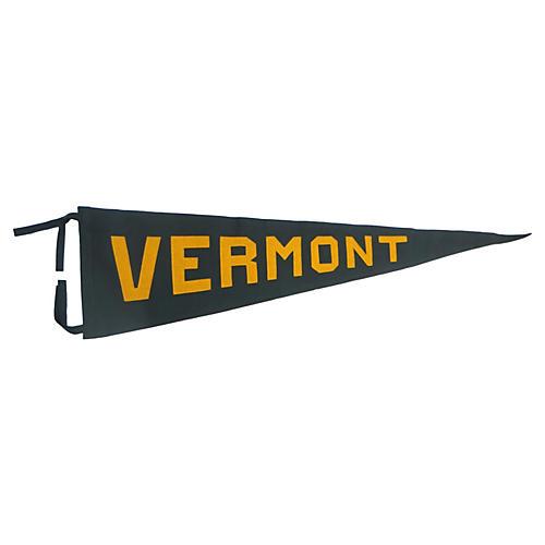 1930s Vermont Pennant