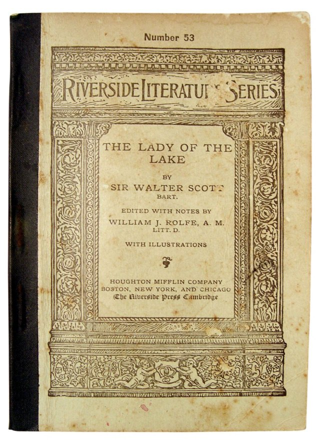 Walter Scott's Lady of the Lake