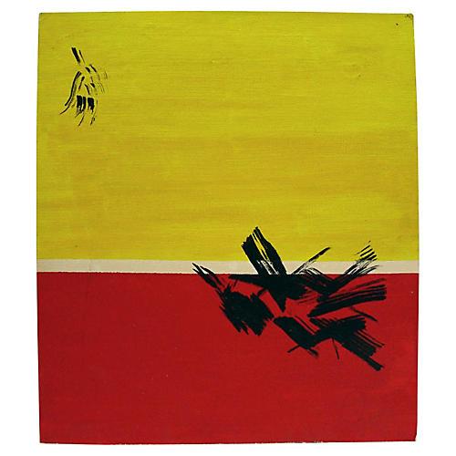 Red & Yellow Horizon