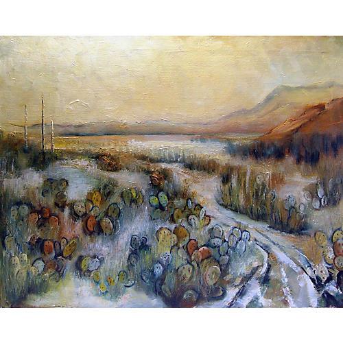 Modernist Desert Landscape