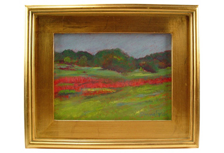 Plein Air Pastel Landscape
