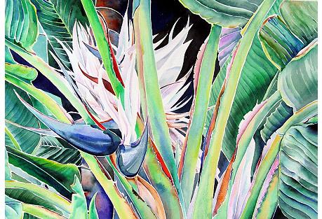 Tropical Abundance by Ann Matlock