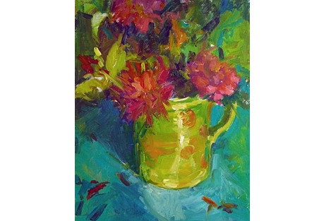 Bold Floral Still Life