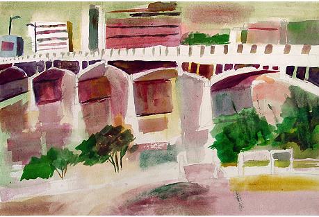 Austin Texas Congress Street Bridge