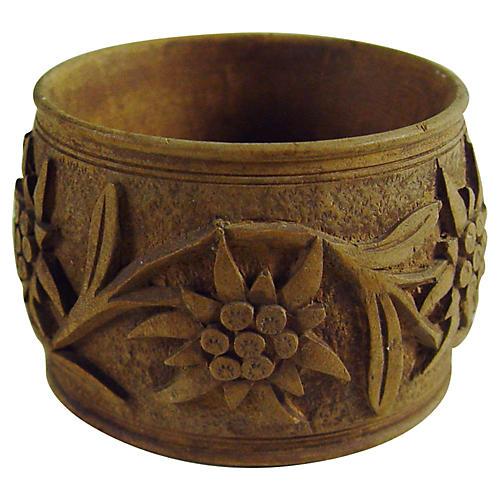 Black Forest Hand-Carved Napkin Ring