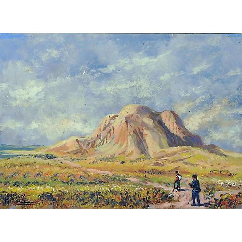 Desert Rock by Simon Michael
