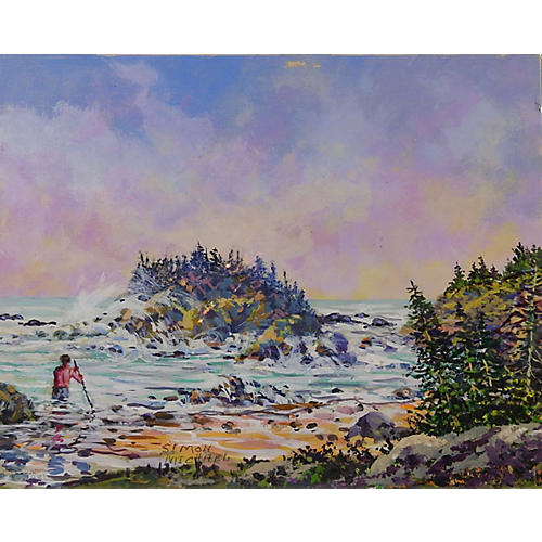 Rocky Coast by Simon Michael