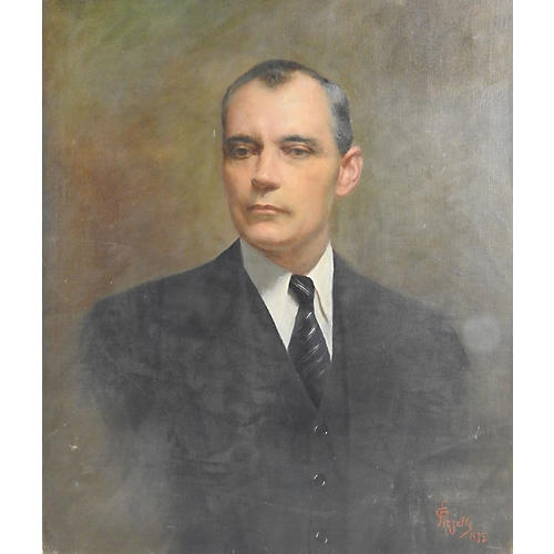 Portrait by Edmondo Pizzella, 1935