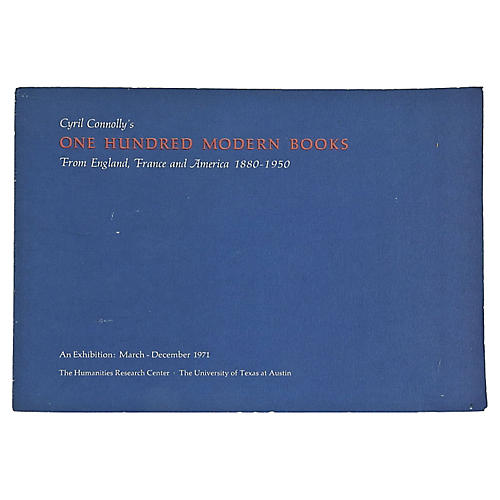 100 Modern Books Exhibition