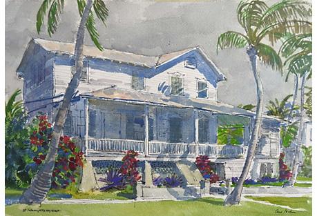 Key West Florida by Paul Parker