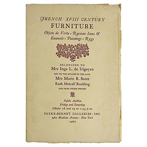 1960s French Furniture Auction