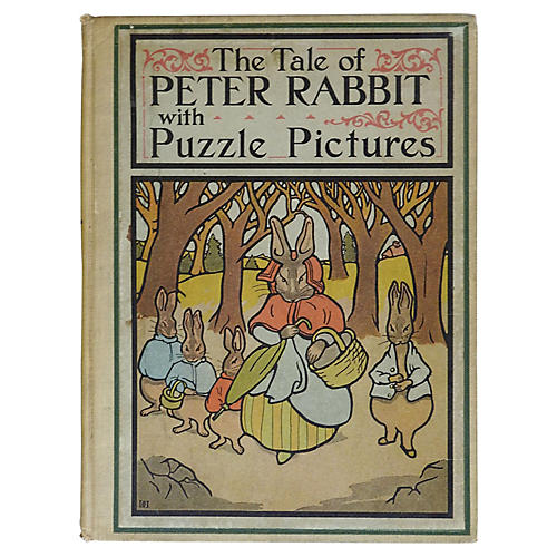 Tale of Peter Rabbit w/ Puzzle Pictures
