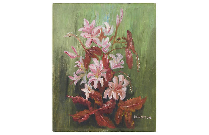 Impressionist Floral by Howerton
