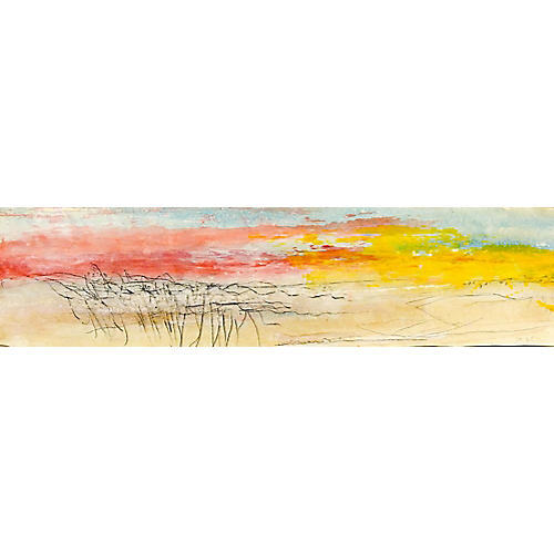 Abstract Landscape by George Turner