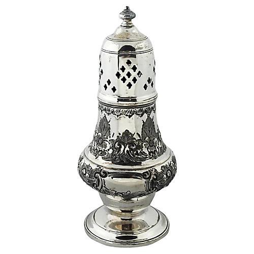 Silver-Plate Sugar Shaker