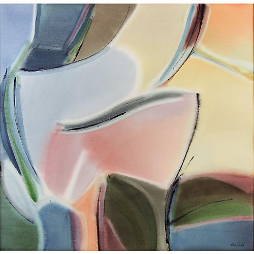 Watercolor Abstract by Bee Judd