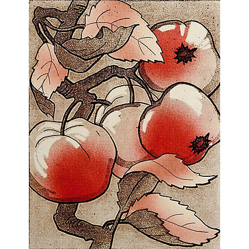 Crab Apple by Fran Truxess