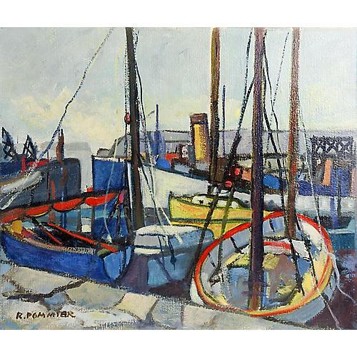 Modernist French Harbor