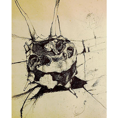 Abstract Drawing by Preot Buxon