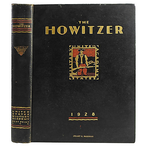 Howitzer USMA West Point Yearbook, 1928