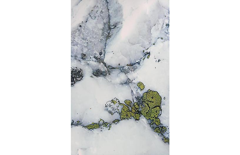 Rock Pattern Photograph by L. McVey