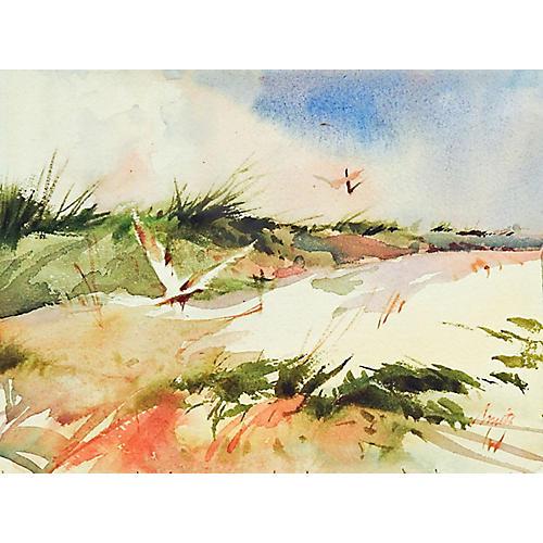Seagulls & Sand Dunes