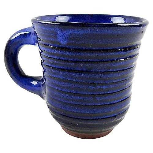 Harding Black Hand Thrown Mug
