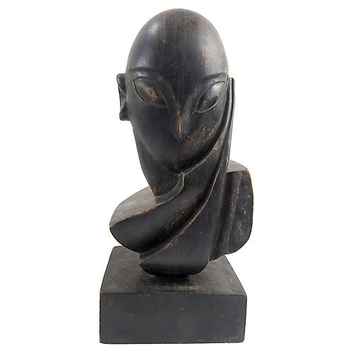 Abstract Carving after Brancusi