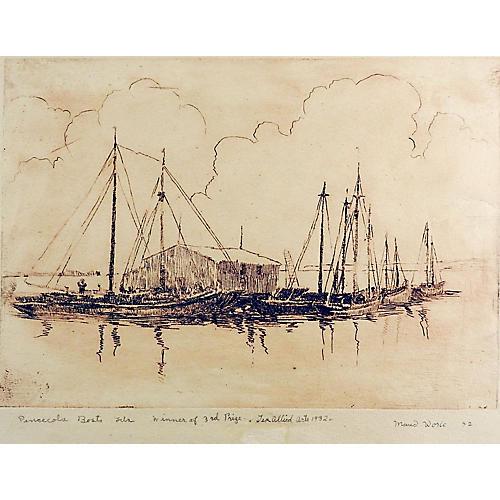 Pensacola Marina by Maud Work
