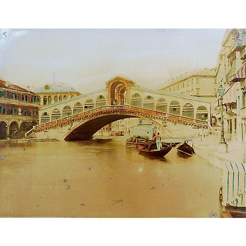 Antique Photo of Venice