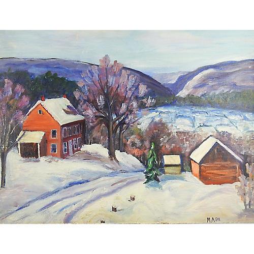 Farm in Winter