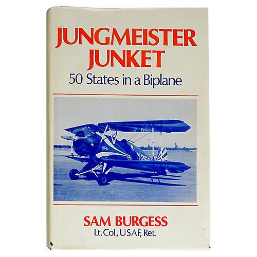 Jungmeister Junket 50 States in Biplane