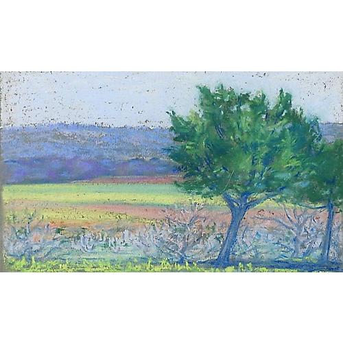 Small Landscape Pastel