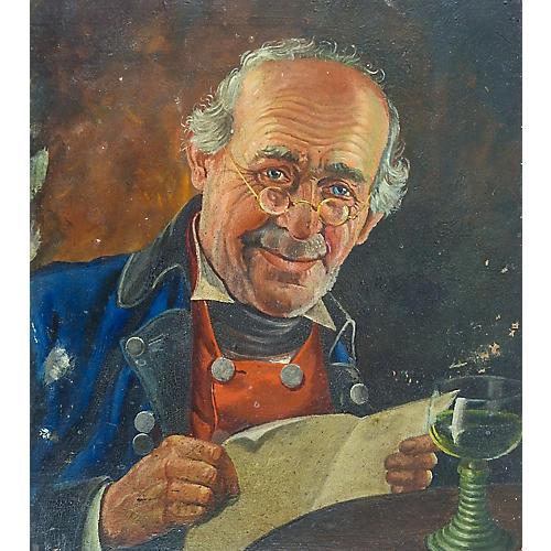 19th-C. Portrait, The Letter