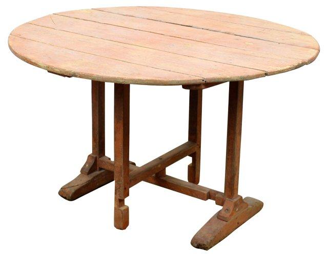 19th-C.   Tilt-Top Wine-Tasting Table