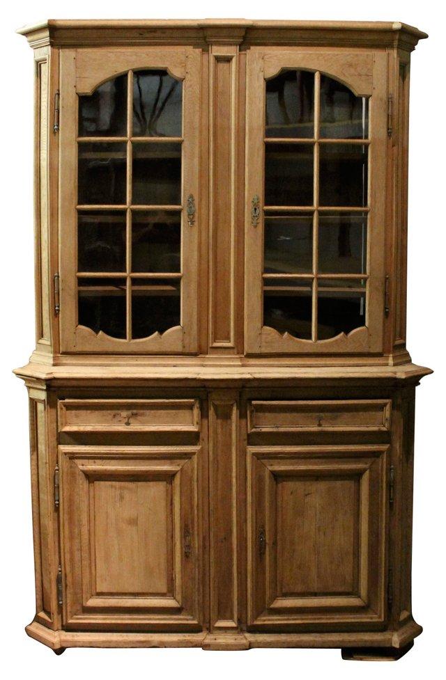 European Oak Cabinet, C.  1800